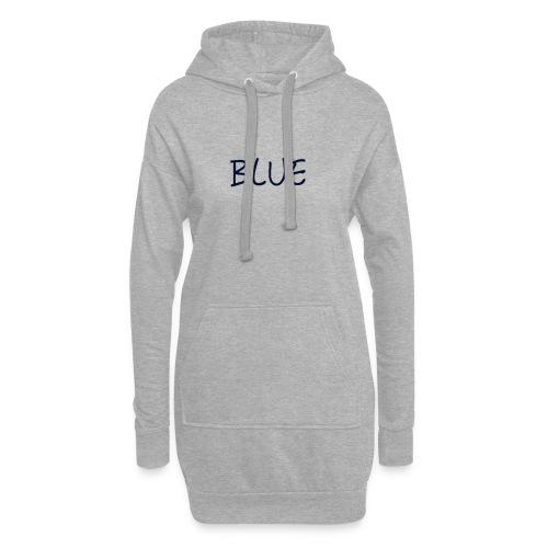 BLUE - Hoodiejurk