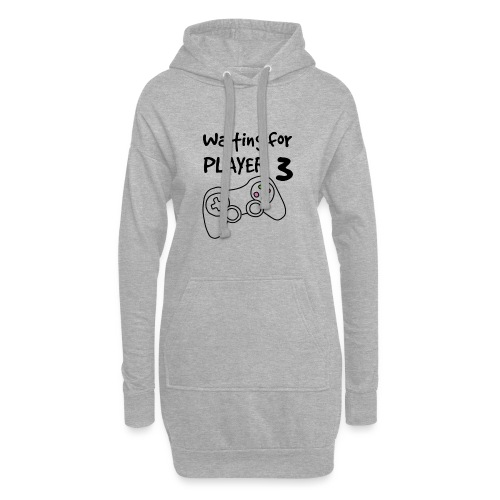 Waiting for Player 3 - Hoodie-kjole