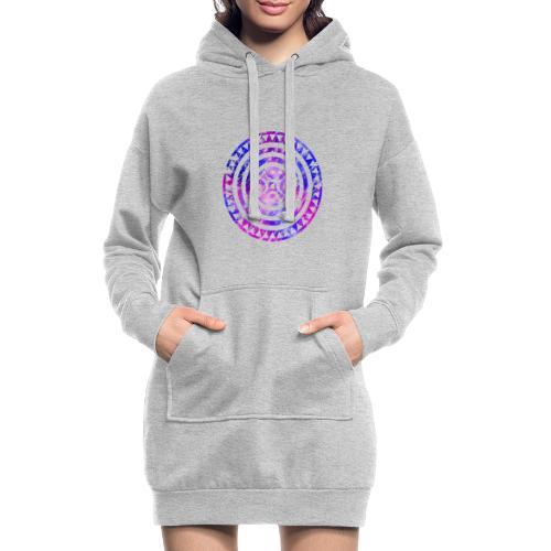 Estela cántabra AF - Sudadera vestido con capucha