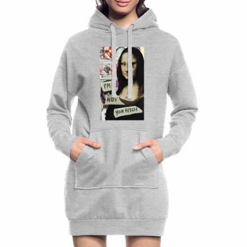 Maglietta Monna Lisa - Stop Violence Against Women - Vestitino con cappuccio