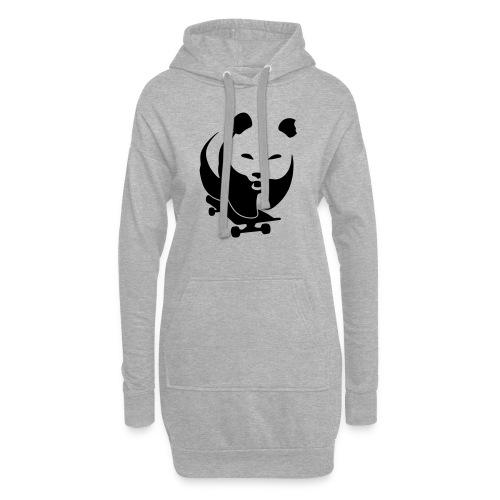 skateboard-panda-evil - Hoodie-Kleid