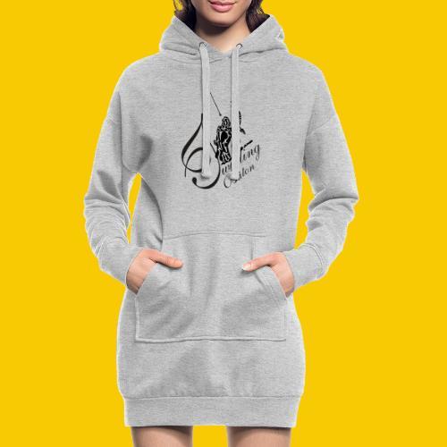 twirling b 2 - Sweat-shirt à capuche long Femme