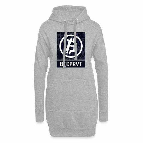BTCPRVT Digital Camo Merchandise - Hoodie Dress