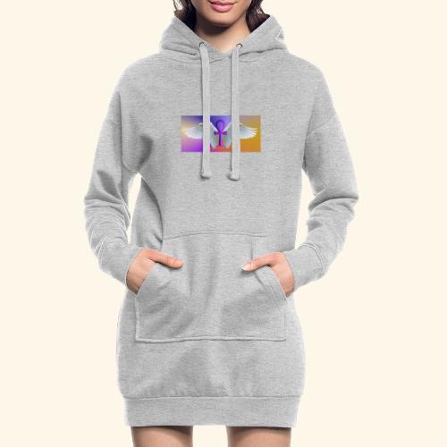 ANKH Logo - Hoodie-Kleid