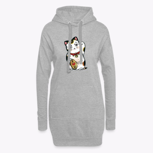 Love Lucky Cat - Hoodie Dress