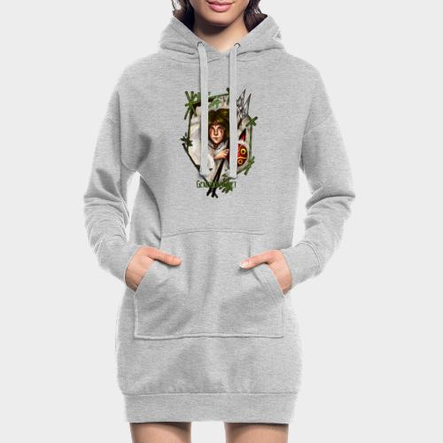Geneworld - Mononoke - Sweat-shirt à capuche long Femme
