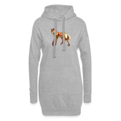 Fox of the night - Hoodie Dress