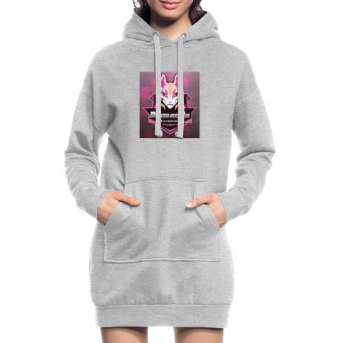 dia icon - Hoodie-kjole