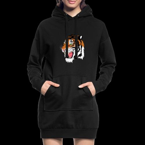 Sumatra Tiger - Hoodie-Kleid