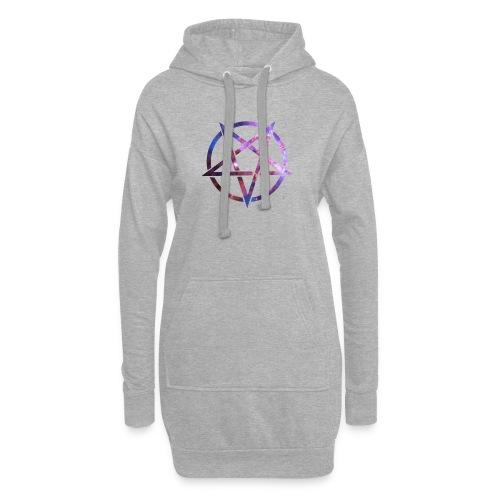 Cosmic Pentagramm - Hoodie Dress