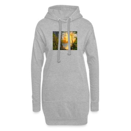 Temple of light - Hoodie Dress