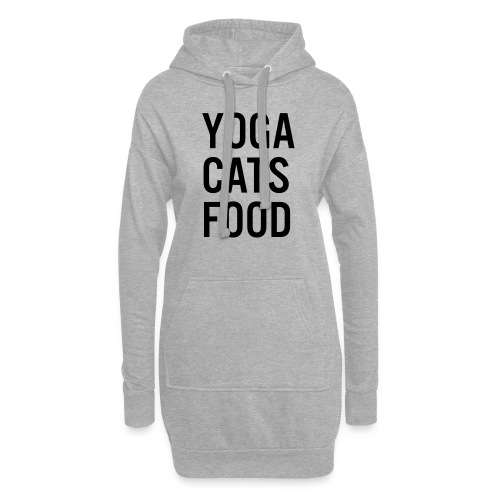 YOGA CATS FOOD LADIES ORGANIC T-SHIRT - Luvklänning