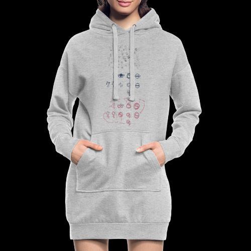 Overscoped concept logos - Hoodie Dress