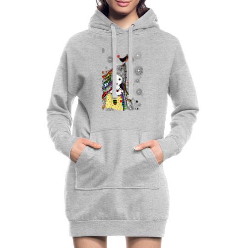 Piep, ich hab dich lieb - Hoodie-Kleid