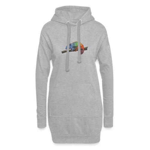 Chameleon T-Shirt - Hoodie-Kleid