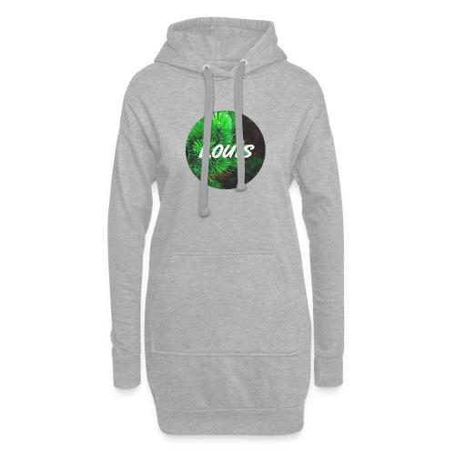 Louis round-logo - Hoodie-Kleid