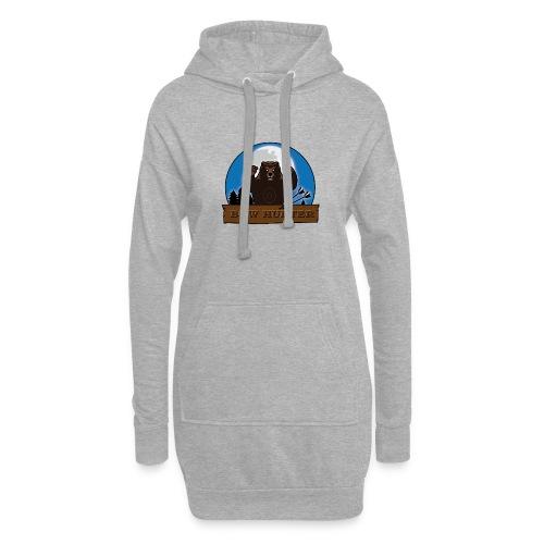 3D_bär - Hoodie-Kleid
