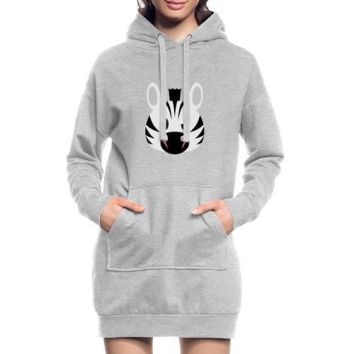 Zebra Zoe - Hoodie Dress