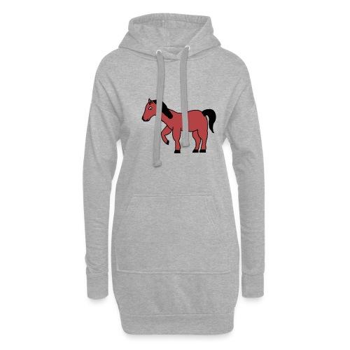 pferd Pony Reiten - Hoodie-Kleid