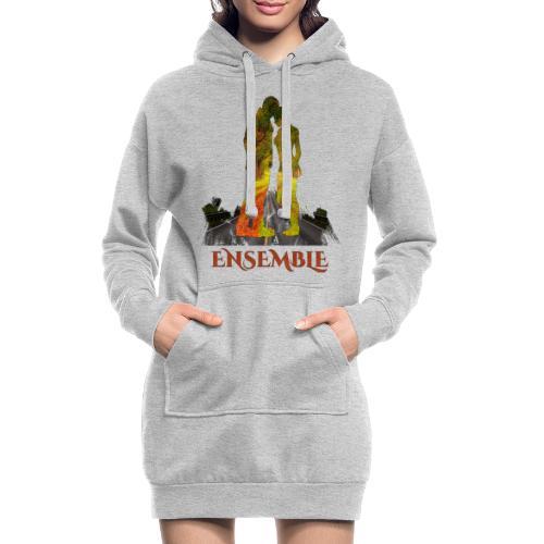 Ensemble -by- T-shirt chic et choc - Sweat-shirt à capuche long Femme
