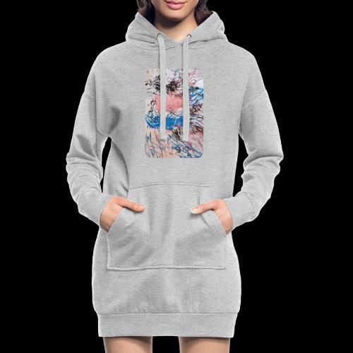 Emelie Kunstwerk V. - Hoodie-Kleid