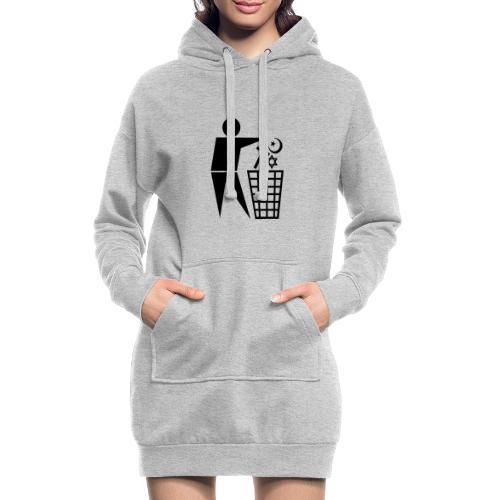 Anti Religion # 1 - Hoodie Dress