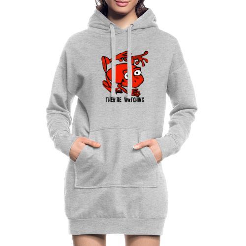 red frog - Vestitino con cappuccio