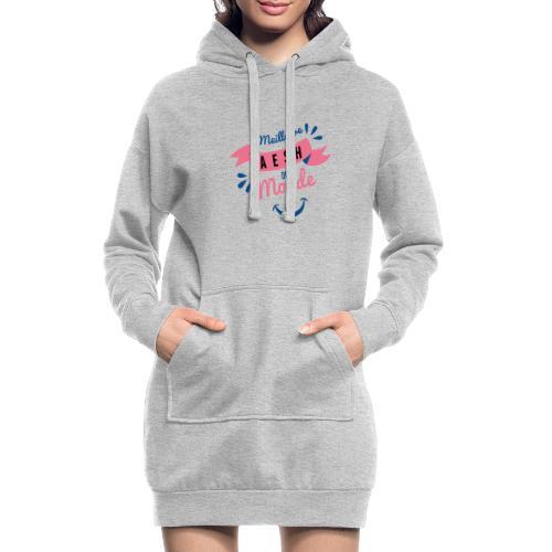 Meilleure AESH du Monde - Sweat-shirt à capuche long Femme