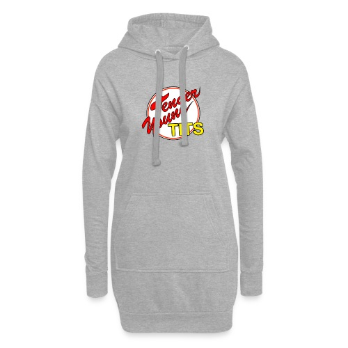 TENDER YOUNG TITS - Hoodie Dress