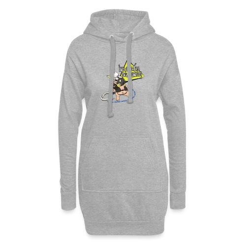 Roadhog Overwatch - No salgáis del punto - Sudadera vestido con capucha