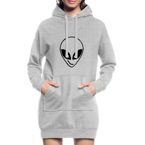 Alien simple Mask - Hoodie Dress