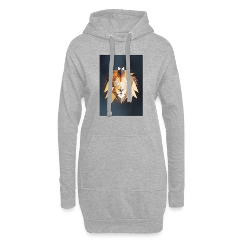 Polygon Lion - Hoodie-Kleid