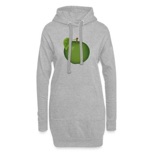 Apfel Pomme Apple - Hoodie-Kleid