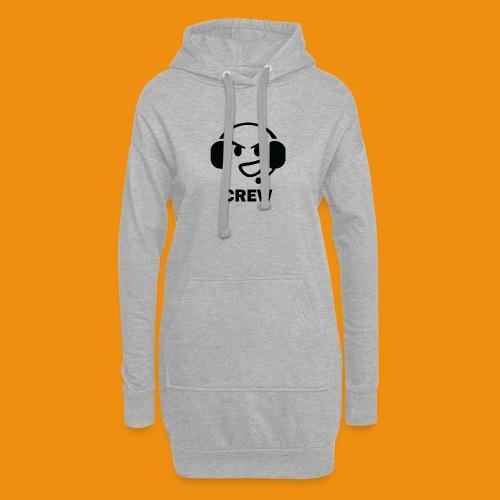 T-shirt-front - Hoodie-kjole