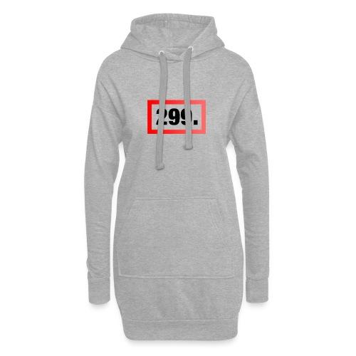299. Logo - Hoodie-Kleid