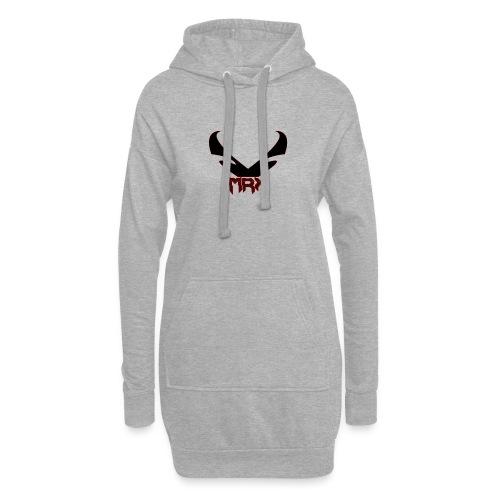 Black MRX - Hoodie-Kleid