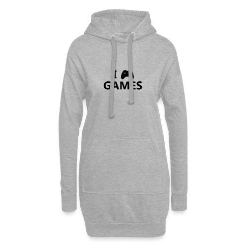 I Love Games 3 - Sudadera vestido con capucha