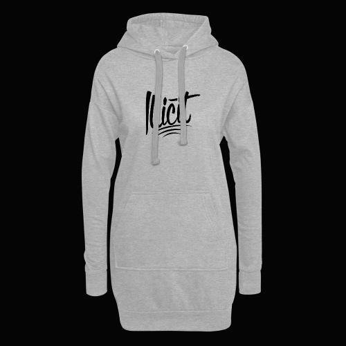 ILLICIT - Hoodie Dress