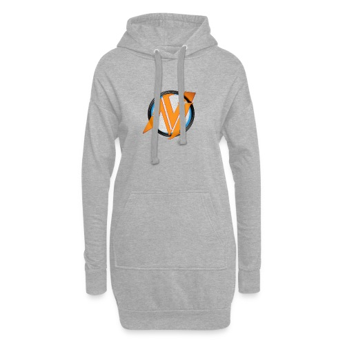 invi.rocks Logo - Hoodie-Kleid