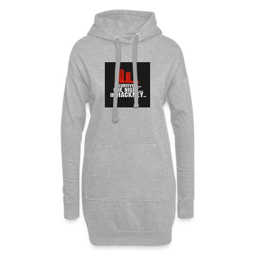 i survived one night in hackney badge - Hoodie Dress