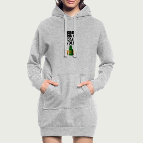 Bier Trinkt Das Volk - Hoodie-Kleid