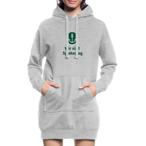 Wir sind Spiekeroog Freunde Sortiment - Hoodie-Kleid