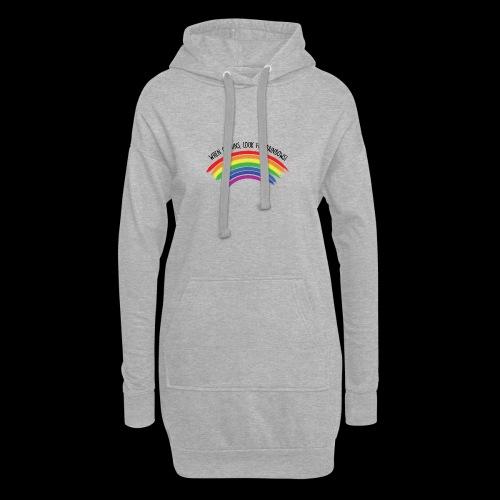 When it rains, look for rainbows! - Colorful Desig - Vestitino con cappuccio