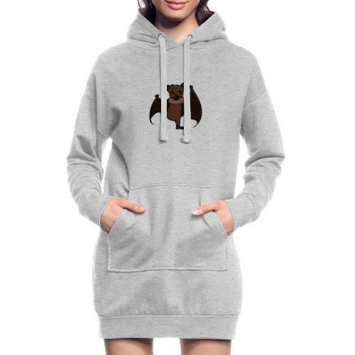 Malu - Der kleine Flughund - Hoodie-Kleid