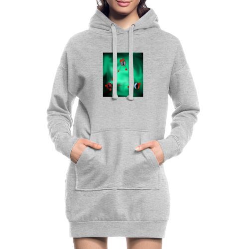 Life - Hoodie-Kleid