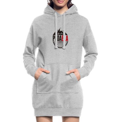 PEDAELA - Sudadera vestido con capucha