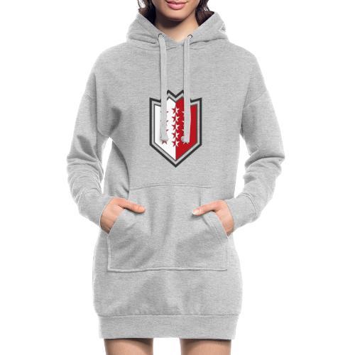Bouclier moderne du Valais - Hoodie-Kleid