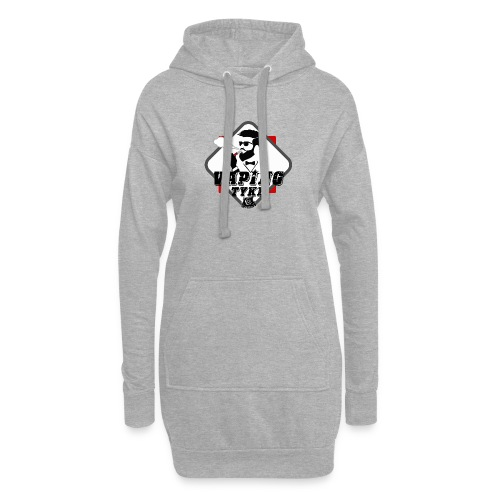 the Vaping tyke - Hoodie Dress