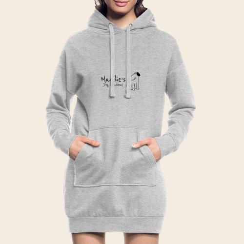 Académie des chiens de Maddie (noir) - Sweat-shirt à capuche long Femme