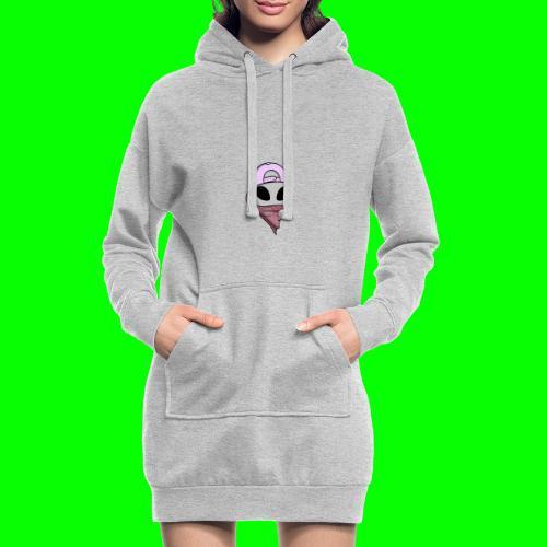 gangsta alien logo - Vestitino con cappuccio